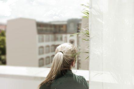 Stadtansicht balkon hotel berlin goldpalais